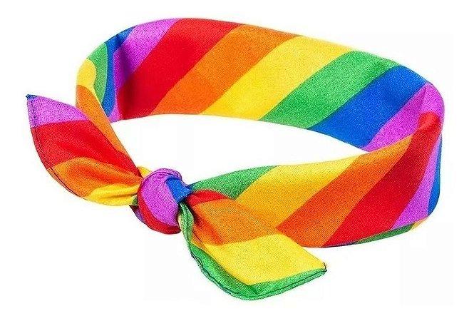 Lenço arco-íris LGBT