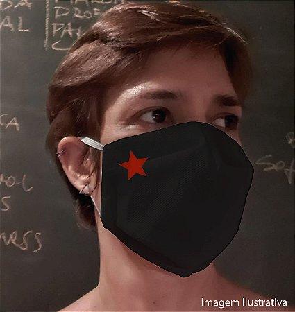 MÁSCARA ESTRELA - Tam P - preta