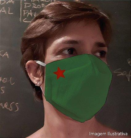 MÁSCARA ESTRELA - Tam M - verde