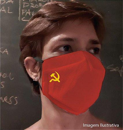 MÁSCARA SOCIALISTA - Tam G - vermelha