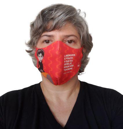 Máscara Neoprene Clarice Lispector