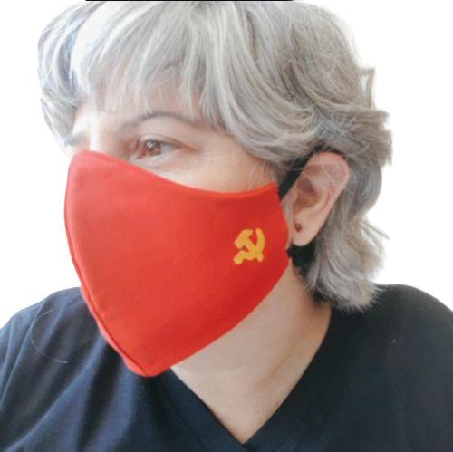Máscara Tecido Socialista