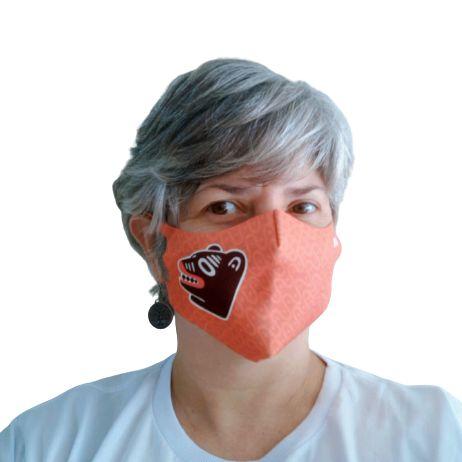 Máscara Neoprene La Ursa Vermelha