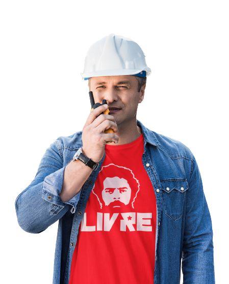 Camisa Básica Lula Livre