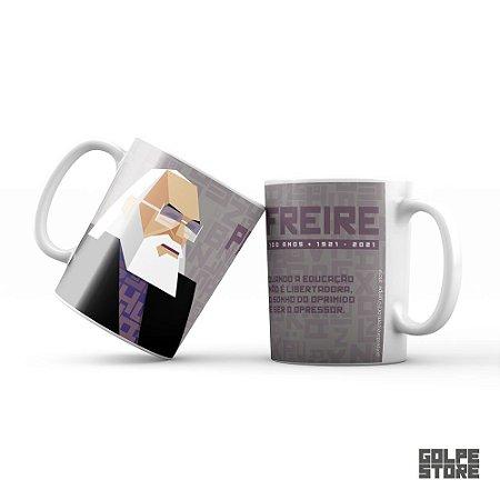 Caneca Paulo Freire 100 anos