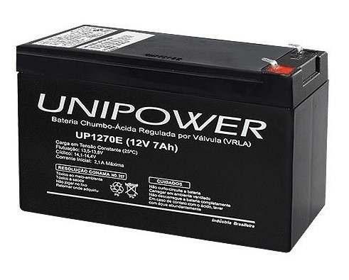 bateria 12v 7a unipower unicoba