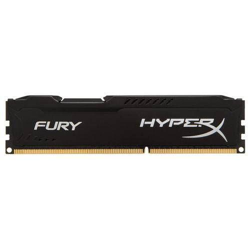 MEM DDR4 8GB 2400 KINGSTON HYPERX FURY BLACK  (unidade)