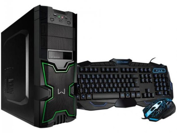 PC Gamer Warrior intel Core i3 - 8GB 1TB Fonte real 80plus