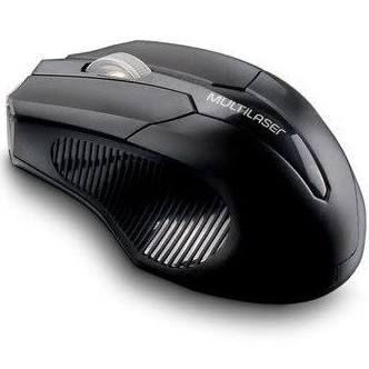 Mouse sem fio 2.4 ghz MO264 preto usb box