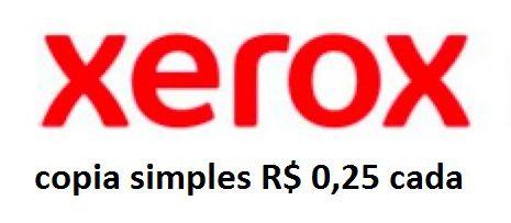 XEROX  copia simples consulte também emails, boletos etc...