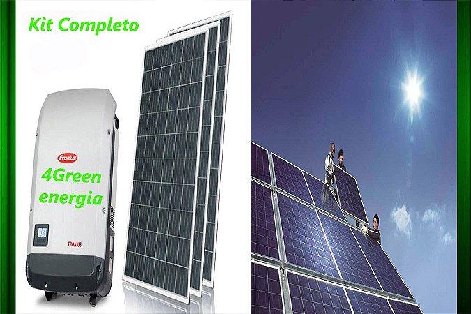 Gerador De Energia  Solar Gef-3900fc 3,9kwp Fronius Primo Mono 220v Canadian