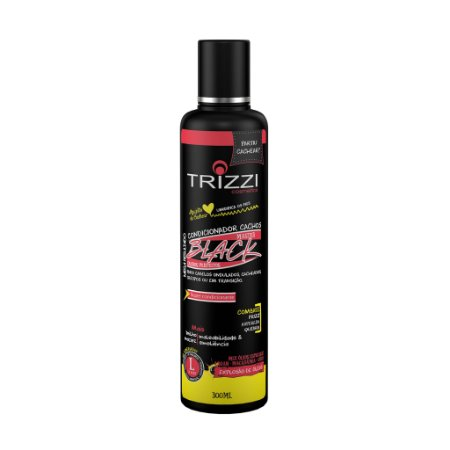 Condicionador Master Black Cachos 300ml Trizzi