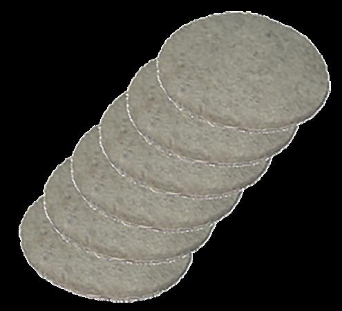 Feltro adesivo redondo 3cm