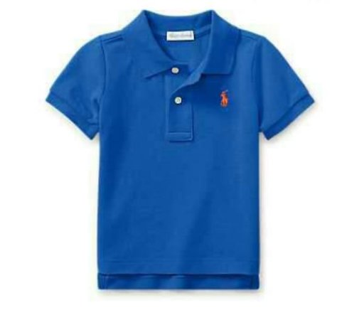 Camiseta Gola Polo Azul Barclay - Polo Ralph Lauren - BABYZOOM ... eef2ad57d0dc1