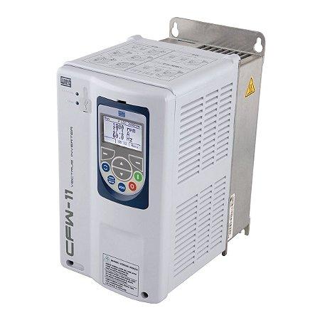 Inversor de Frequência CFW11 6CV 380V-440V 10A Entrada Trifásica WEG