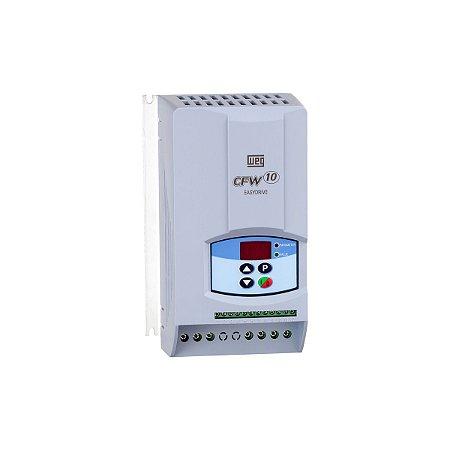 Inversor de Frequência CFW10 1CV 220V 4A Clean Entrada Monofásica WEG