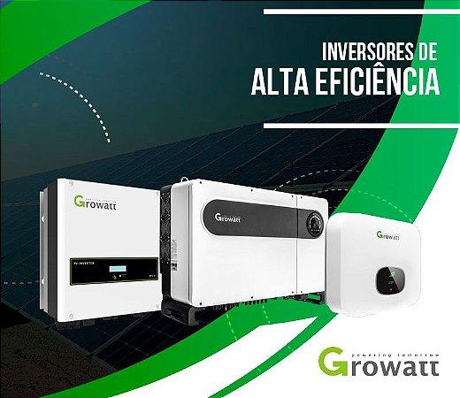 LINHA DE INVERSOR SOLAR ONGRID E OFF GRID GROWATT