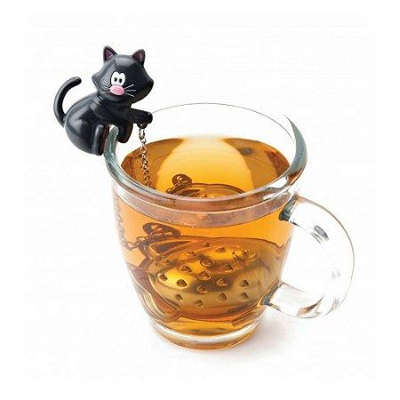 Infusor de Chá Joie Gato em Aço Inox