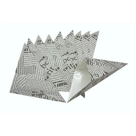 Conjunto de 10 Sacos Decorados para Batata Frita Fackelmann em Papel