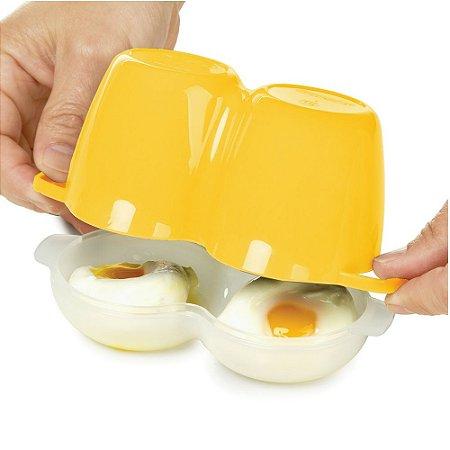 Suporte para Fazer Ovo Pochê no Microondas Progressive Cozinha Funcional