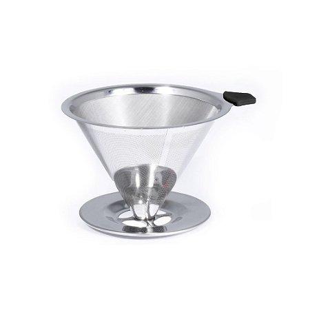 Coador De Café Pour Over Em Aço Inox 18/10 - Bialetti
