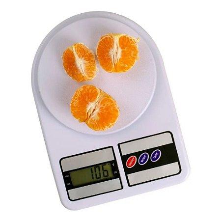 Balança de Cozinha Eletrônica Digital Com Visor em LCD Alta Precisão Pilha AAA Incluída