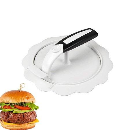 Modelador de Hamburguer Prensa Forma Com Recheio 03 Peças Fackelmann Carne Cozinha