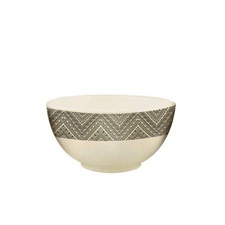 Mini Bowl Tigela Fibra de Bambu 11 x 5cm  Leve Sustentavel Material Ecologico Cozinha Servir