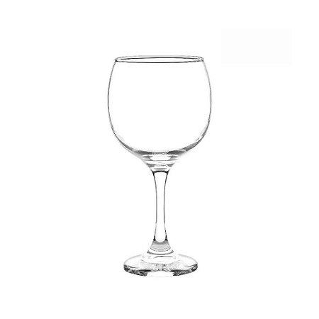 Taça Para Gin Tonica Vinho em Vidro Transparente 620ml Borgonha Coquetel Bar Gran Vino Premiere