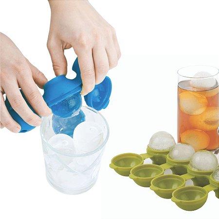 Forma de Gelo em Silicone Formato Esfera Bola Grande Joie Cor Sortida Molecular Drinks Bebidas