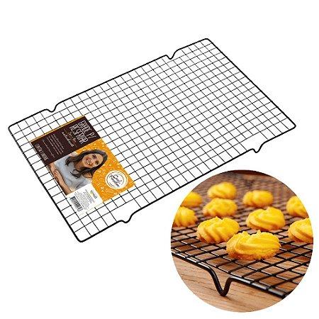 Grade Resfriamento Bolo Doce Biscoito Antiaderente Glaçagem Utensilio Confeitaria Cozinha