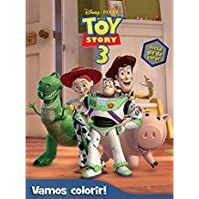 DISNEY - VAMOS COLORIR - TOY STORY 3