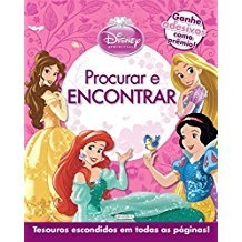 DISNEY PRINCESA - PROCURAR E ENCONTRAR - ROSA