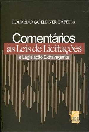 COMENTARIOS AS LEIS DE LICITAC. E LEGISLACAO EXT.