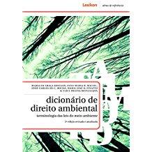 DICIONARIO DE DIREITO AMBIENTAL