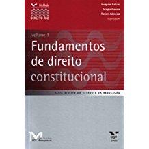 FUNDAMENTOS DE DIREITO CONSTITUCIONAL VOL.1