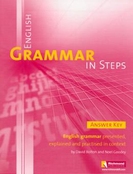 ENGLISH GRAMMAR IN STEPS ANSWER KEY