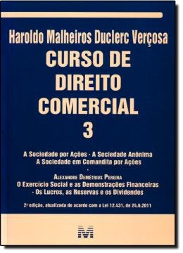 CURSO DE DIREITO COMERCIAL VOL.03