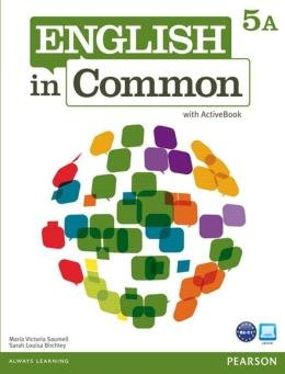 ENGLISH IN COMMON 5A SPLIT SB WITH ACTIVEBOOK AND WB - 1ST ED