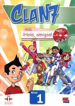 CLAN 7 CON HOLA, AMIGOS! 1 LIBRO DEL ALUMNO + CD-ROM