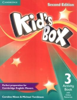 KIDS BOX 3 ACTIVITY BOOK WITH ONLINE RESOURCES - BRITISH - 2ND ED