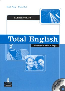 TOTAL ENGLISH ELEMENTARY WB WITH KEY AND CD-ROM - 1ST ED