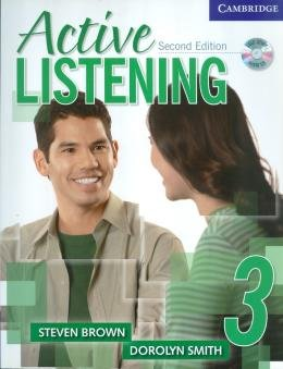 ACTIVE LISTENING SB 3 SELF-STUDY WITH CD - 2ND ED