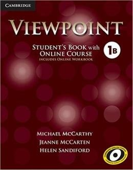 VIEWPOINT 1B SB WITH ONLINE COURSE AND ONLINE WB - 1ST ED