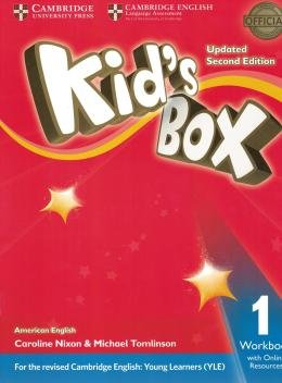 KIDS BOX AMERICAN ENGLISH 1 WB WITH ONLINE RESOURCES - UPDATED 2ND ED