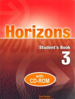 HORIZONS 3 SB WITH CD-ROM
