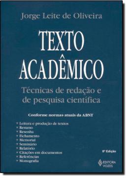 TEXTO ACADEMICO- TECNICAS DE REDACAO E DE PESQUISA