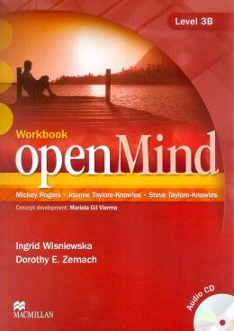 OPEN MIND 3B WB WITH AUDIO CD - 1ST ED