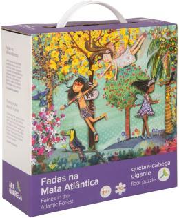 QUEBRA-CABECA FADAS NA MATA ATLANTICA - 36 PECAS