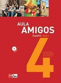AULA AMIGOS ESPANOL - NIVEL 4 - COM CD